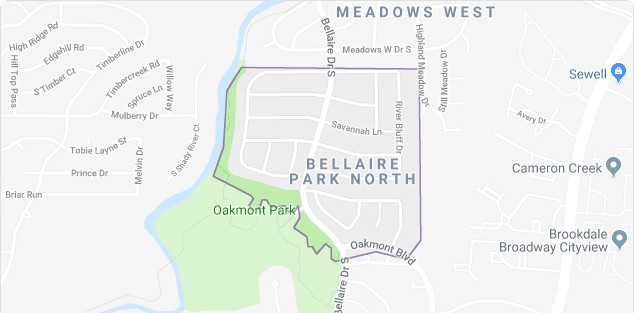 Bellaire Park North Homes For Sale