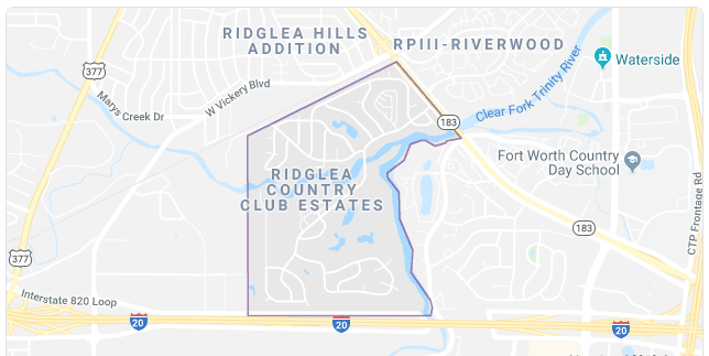 Ridglea Country Club Estates Homes For Sale