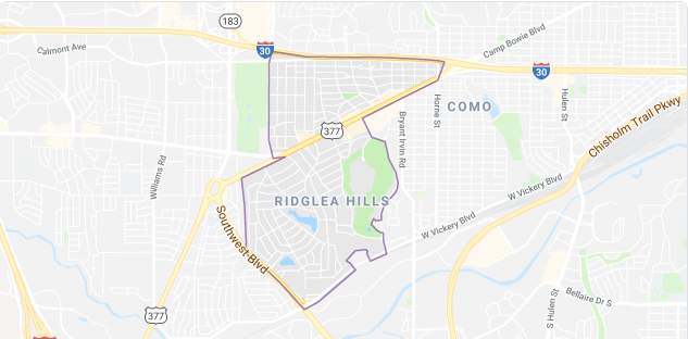 Ridglea Hills Homes For Sale