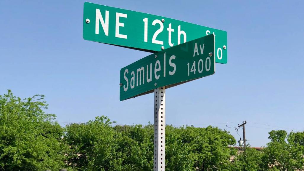 Samuels Avenue History